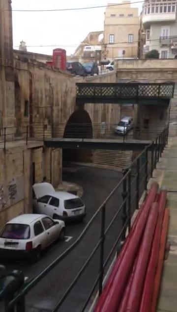 Watch: Vehicle driven down historic Valletta steps