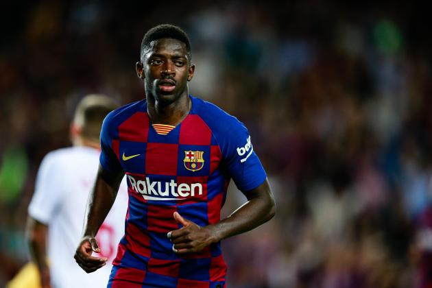 Dembele to miss Clasico after receiving two-match ban