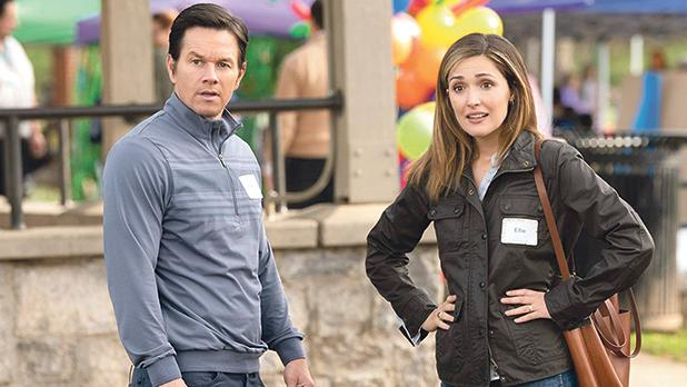 Mark Wahlberg and Rose Byrne open their hearts and homes in Instant Family.