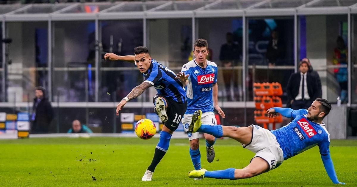 Napoli V Inter Italian Cup Semi Final Postponed Over Virus