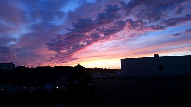 Sunset at Marsascala. Photo: John Sammut