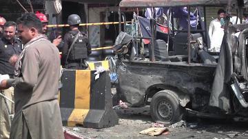 Suicide blast at popular Pakistani shrine kills at least 10