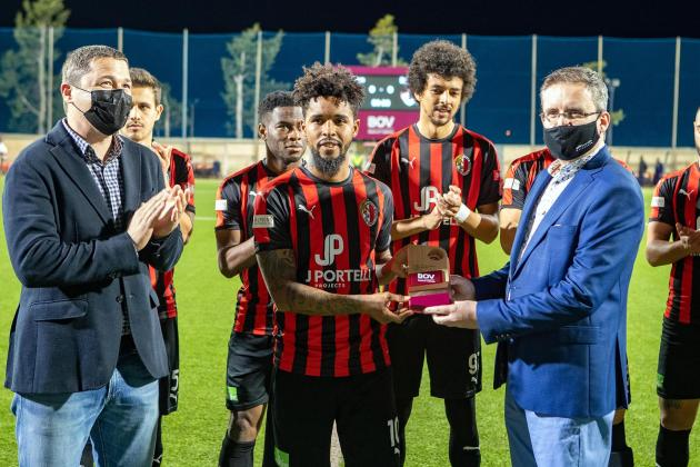Ħamrun Spartans striker Ailton Soares picks second monthly award in a row