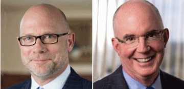Mr Ernst (left) and Mr Buehrens (right) have both quit Vitals and Malta.