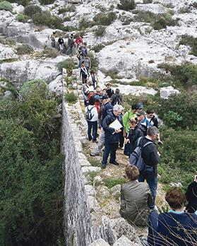 Following the trace of the Victoria Lines at Wied Anġlu between Għargħur and Naxxar, one can also discover sites of ecological interest.
