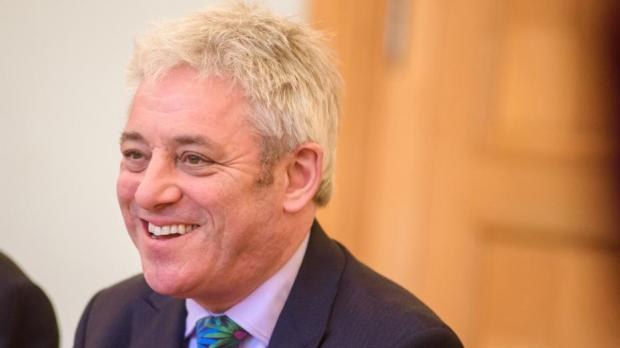 Speaker John Bercow's bladder were raised after he chaired key Commons debates for more than nine hours
