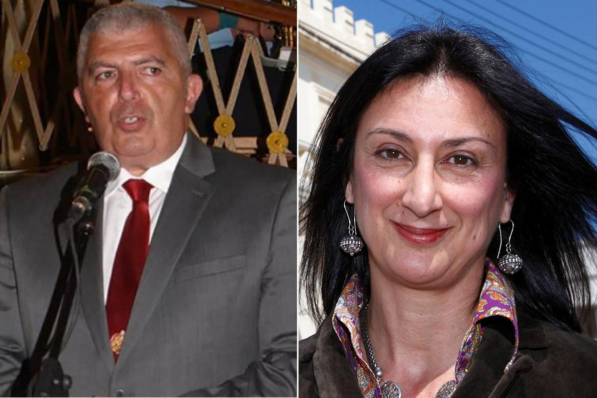 Carmel Chircop and Daphne Caruana Galizia: the two murder victims.