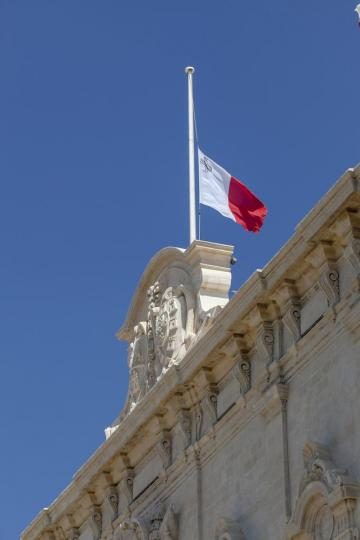 Flags will fly at half mast. Photo: Shutterstock