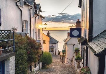 The Devon coast, UK
