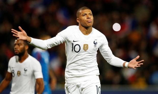 Kylian Mbappe struck late to save France's blushes.