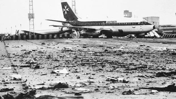 Photos of the Air Malta aircraft shortly after the explosions at Cairo Airport are being reproduced in a new book.