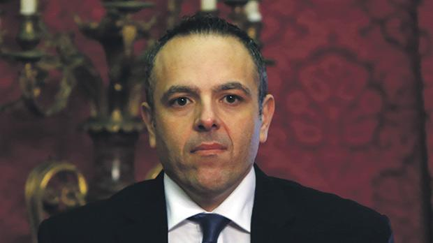 The PM's chief of staff, Keith Schembri. Photo: Darrin Zammit Lupi