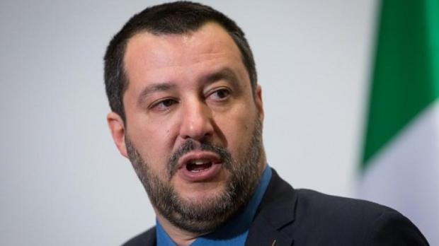 Mr Salvini is not one to mince his words. Photo: AFP