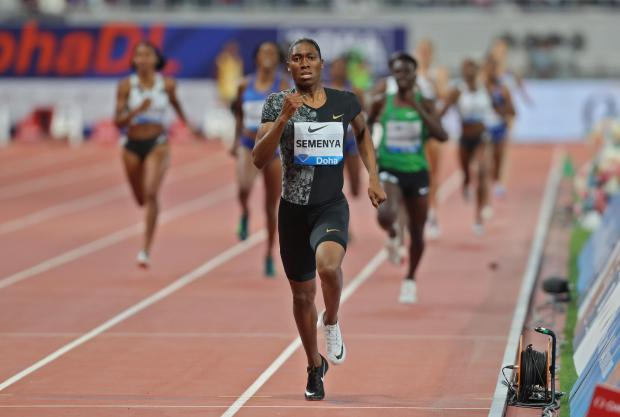 South Africa's Caster Semenya competes in the women's 800m during the IAAF Diamond League.