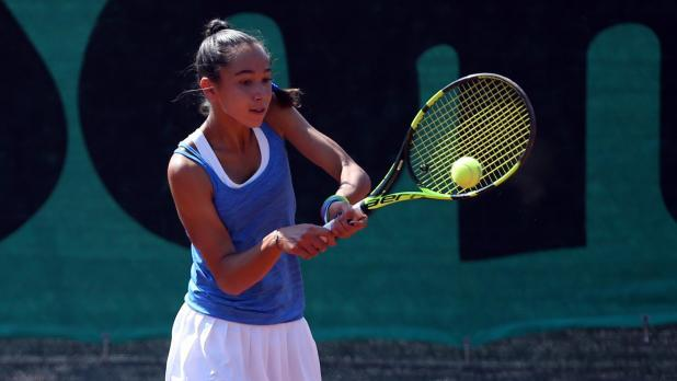 Francesca Curmi reached the second round of the doubles competition.