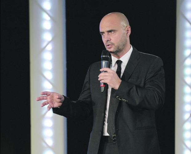 Giuseppe Giannin during the MOC Sports Awards