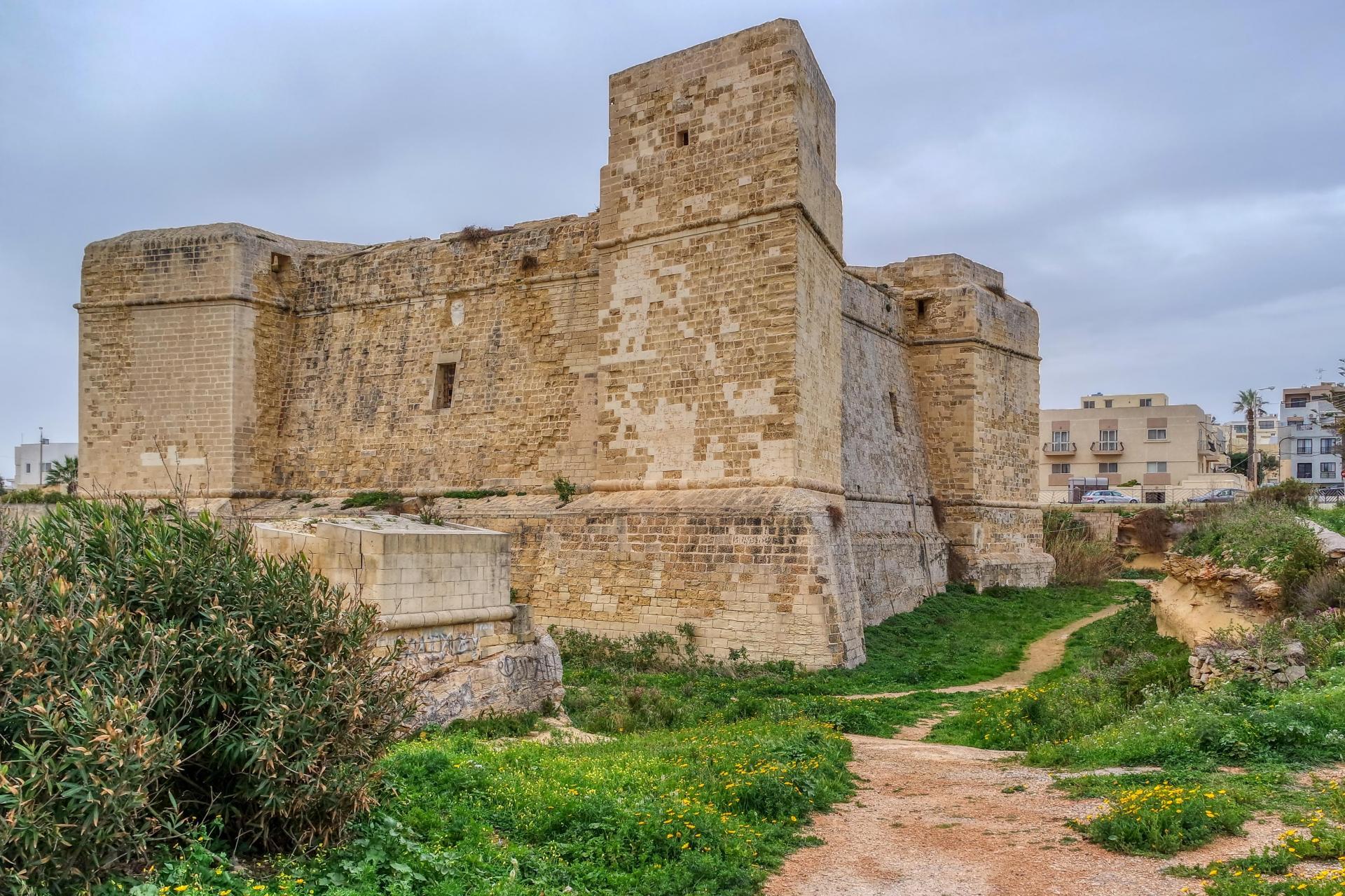 St Thomas tower in Marsascala. Photo: Shutterstock