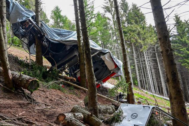 Child survivor of Italy's cable car crash leaves hospital
