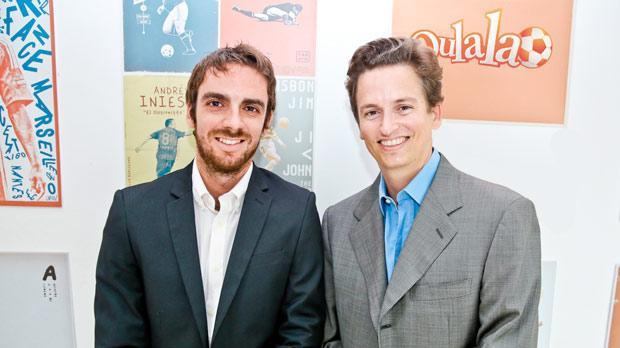 From left, Benjamin Carlotti and Valery Bollier.