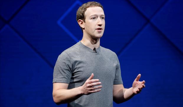 Facebook Founder and CEO Zuckerberg