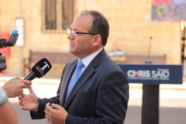 Dr Said speaks to Times of Malta following the launch of his leadership campaign.