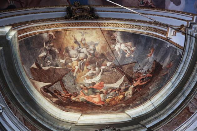 Mattia Preti painting at Mdina Cathedral restored