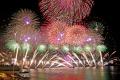 Blaze of colour at fireworks festival