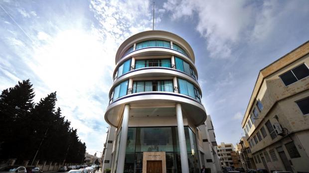 The PN's headquarters in Pietà.