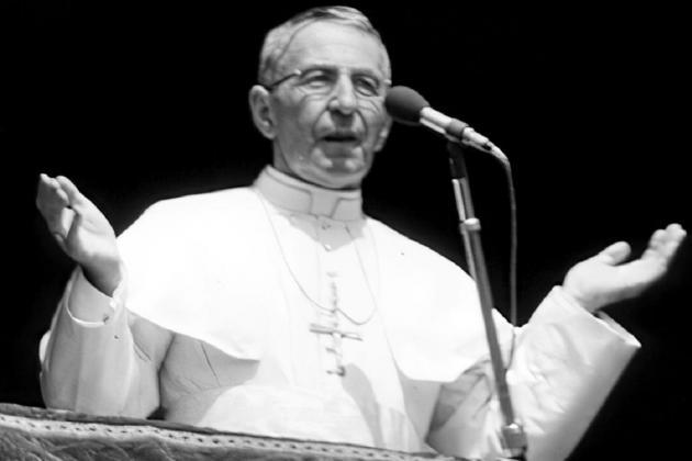 'Smiling pope' John Paul I takes step to sainthood
