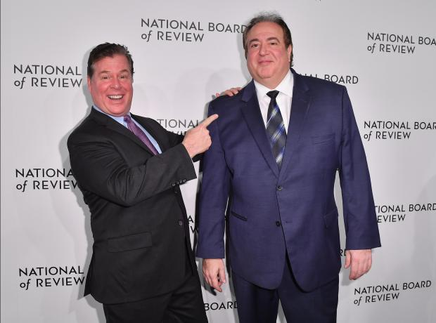 Green Book co-writers Brian Currie (L) and Nick Vallelonga (R) attend the 2019 National Board Of Review Gala.