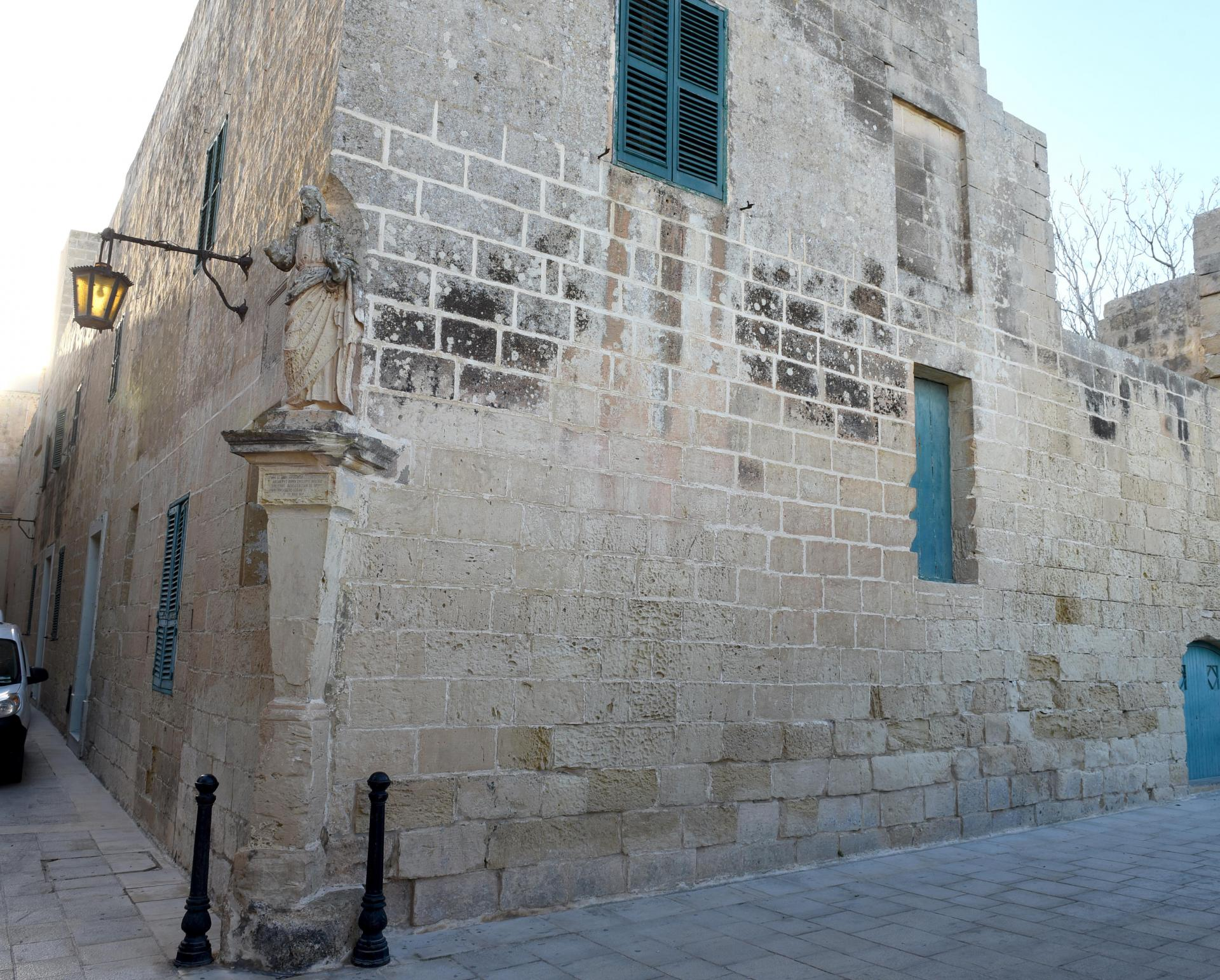 The house on Triq is-Salvatur, Mdina, which Fenech had committed to purchase from Camilleri. Photo: Chris Sant Fournier