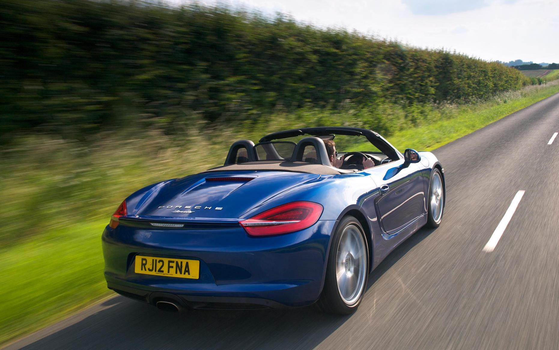 The Boxster is arguably one of the best-driving convertibles.