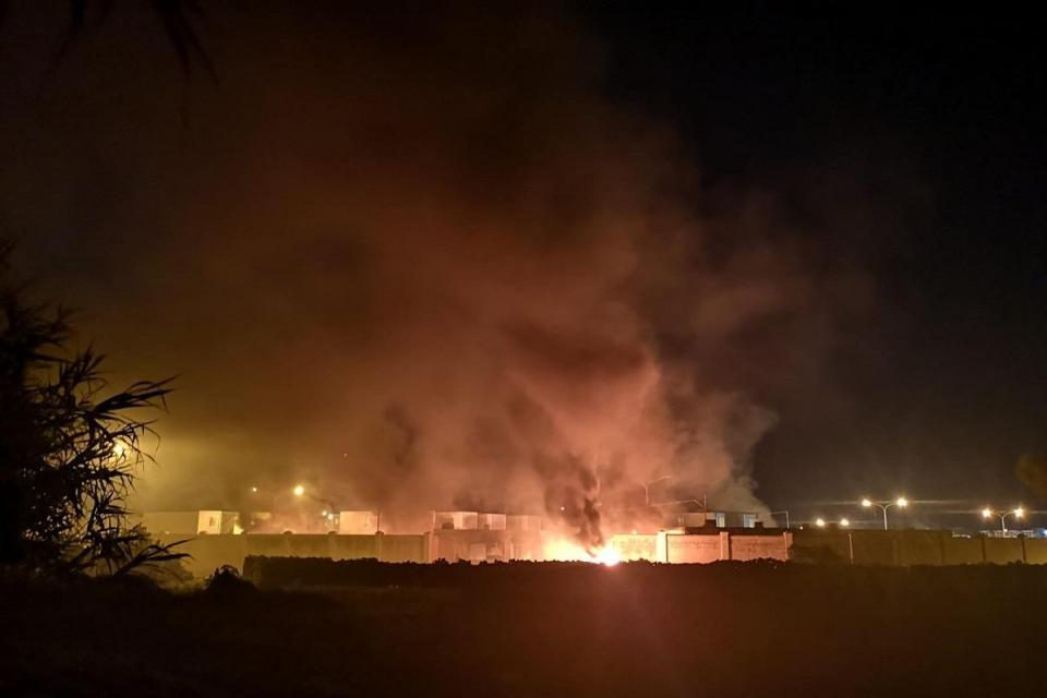 Fires were lit while AWAS staff were still inside the facility