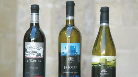 A Maltese product? Camilleri Wines and Delicata feel the labels on Marsovin's new range of wines are misleading the consumer into believing it is a Maltese product when it's not. Photo: Chris Sant Fournier