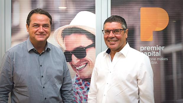 Paul Dragan, left, general manager of Premier Restaurants Malta, and Victor Tedesco, managing director of Premier Capital, the Developmental Licencee for McDonald's in Malta, Estonia, Greece, Latvia, Lithuania, and Romania.