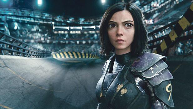 Rosa Salazar plays a cyborg in Alita:Battle Angel.