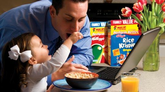 Make time for breakfast, Kellogg's urges families