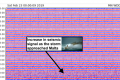 Storm dramatic enough to be captured by seismic monitors