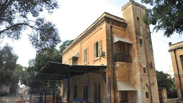 The former railway station at Birkirkara will house a museum. Photo: Jason Borg