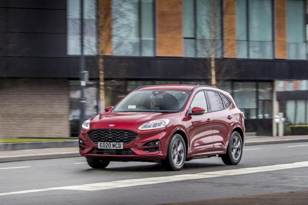 The Ford Kuga plug-in hybrid is an impressively efficient SUV