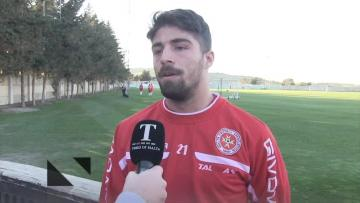 Watch: Gżira duo Muscat, Haber eager to make most of Malta call-up  | Video: Matthew Mirabelli