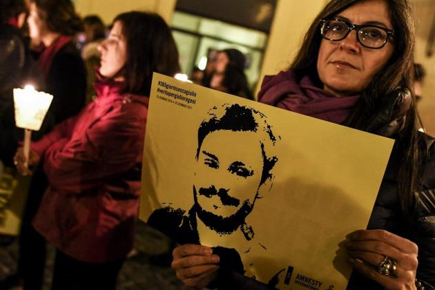 Italian court tries Egyptian officers over student's murder