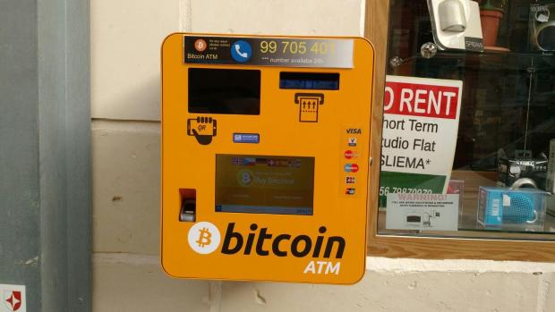 You can now buy bitcoin from an atm in sliema the atm was installed on saturday morning ccuart Images