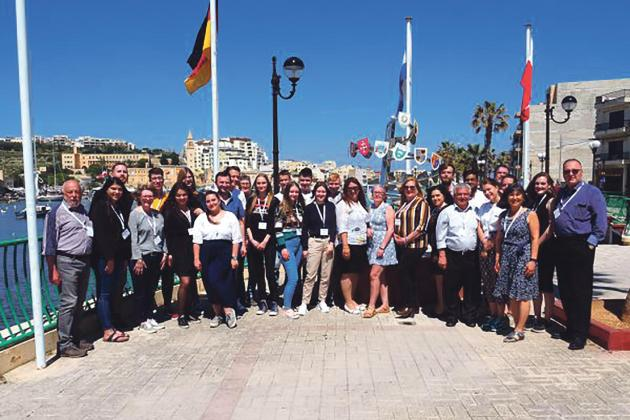 Foreign students get a taste of Maltese real-life policy practices