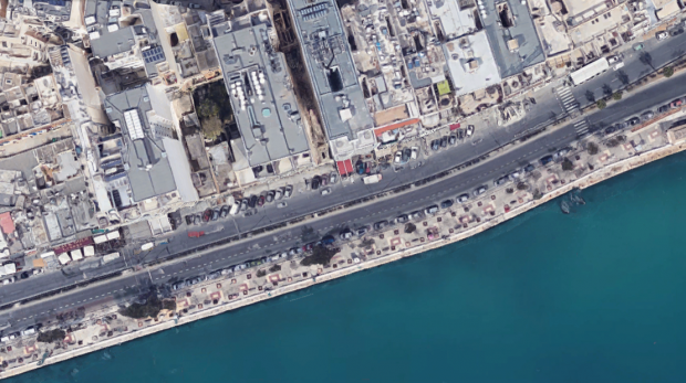 More and more outlets are taking up pavements and parking spaces. Photo: Google Maps