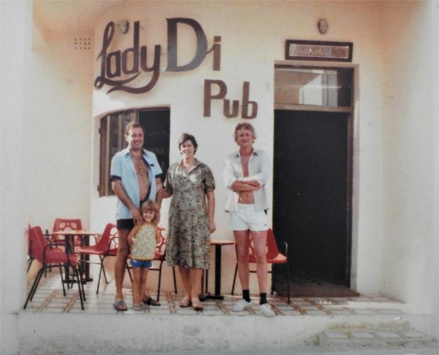 The earlier Lady Di Pub.