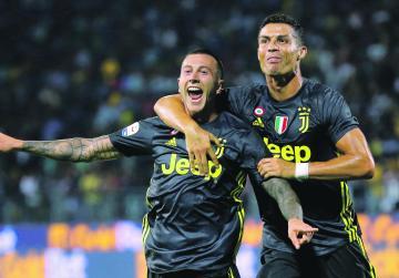 Watch: Juventus maintain perfect start