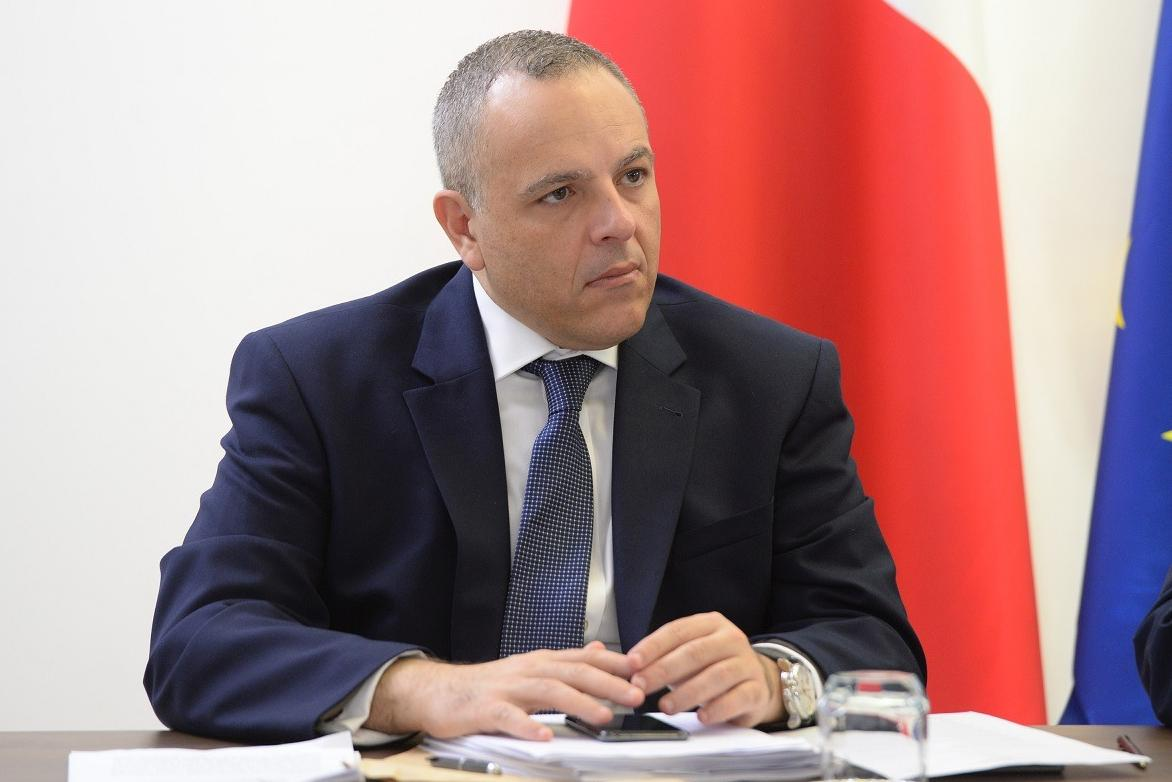 "Keith Schembri, the former OPM chief of staff. On Wednesday, Neville Gafà said the two were ""friends"" but never discussed thorny issues in the news. Photo: Matthew Mirabelli"