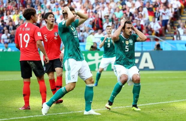 Germany's high possession game left them empty-handed. Photo: Reuters