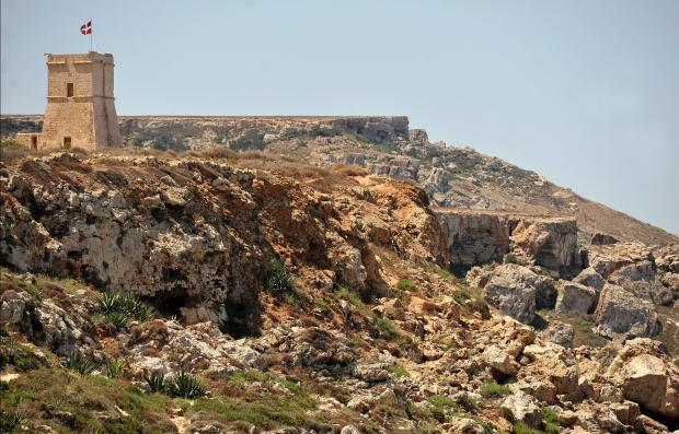 The Ghajn Tuffieha Tower on July 11. Photo: Chris Sant Fournier